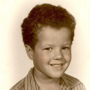 Bruce-Paul as a Child