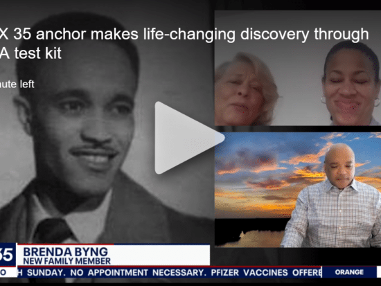 FOX 35 anchor makes life-changing discovery through DNA test kit